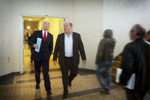oud-Minister Leers en Maarten Visser op werkbezoek